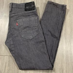 Rare Gray Levi's Commuter 511 Slim Stretch Jeans